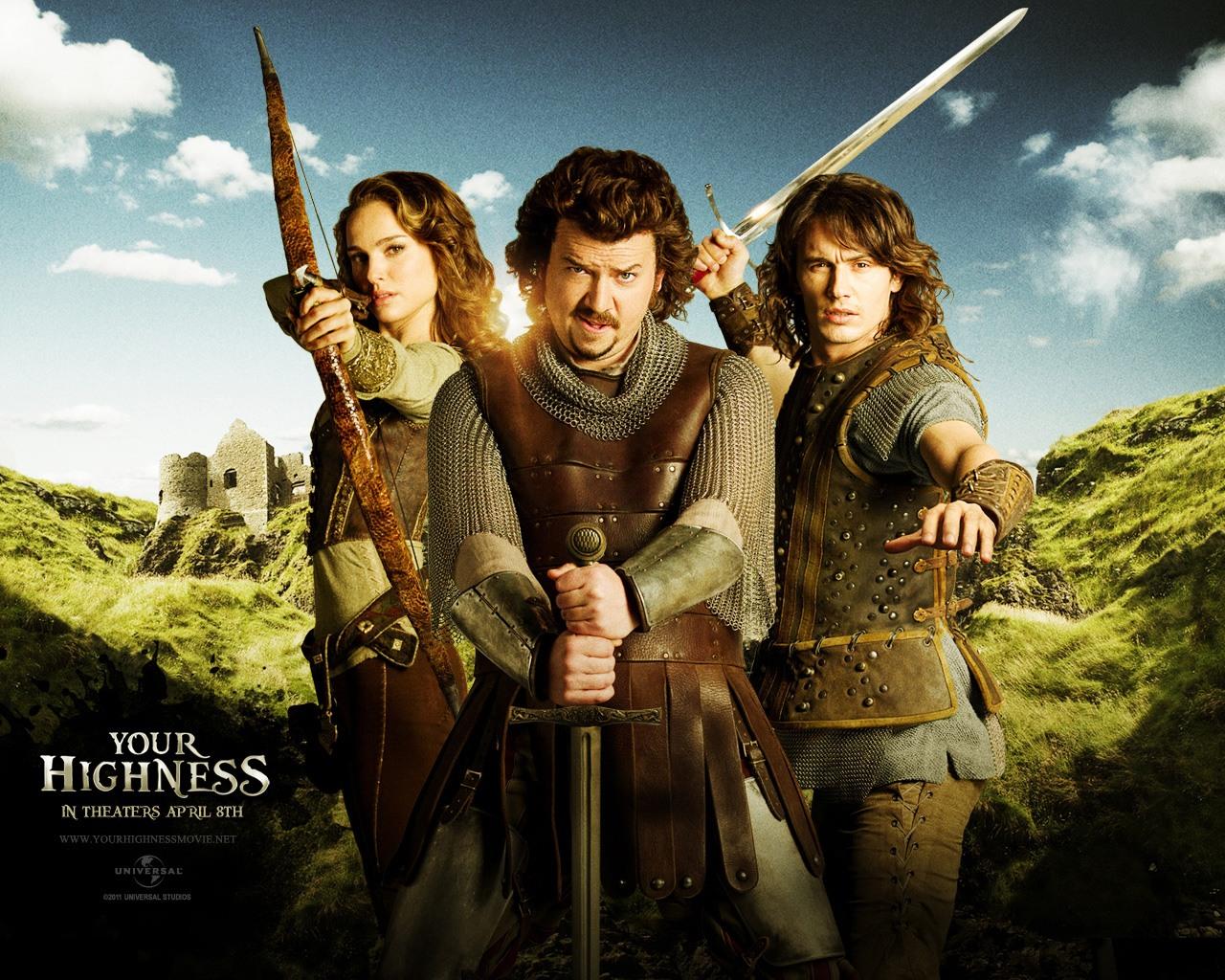 Кино онлайн Храбрые перцем/Ваша высокомерность/Your Highness